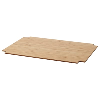 OMAR Cover for shelf, bamboo, 46x36 cm