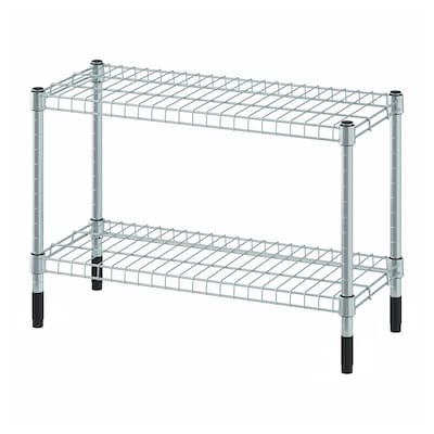 OMAR Shelving unit, galvanised, 60x25x40 cm