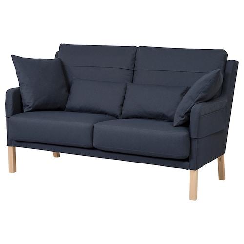 OMTÄNKSAM 2-seat sofa Orrsta black-blue 101 cm 92 cm 160 cm 95 cm 101 cm 22 cm 5 cm 68 cm 149 cm 58 cm 51 cm
