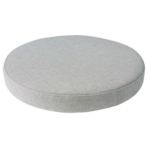 OMTÄNKSAM chair cushion Orrsta light grey 38 cm 7.0 cm 339 g 525 g