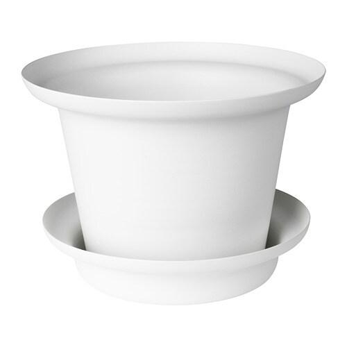 OmtÄnksam Plant Pot With Saucer