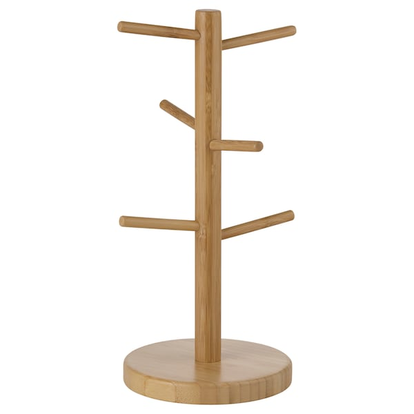 OSTBIT Mug stand, bamboo