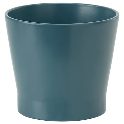 PAPAJA Plant pot, dark blue, 12 cm