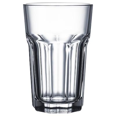 POKAL Glass, clear glass, 35 cl 4 pieces