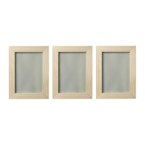 RAM Frame, pine Width: 13 cm Height: 18 cm Picture, width: 10 cm Picture, height: 15 cm Package quantity: 3 pieces