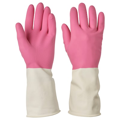 RINNIG Cleaning gloves, pink, M