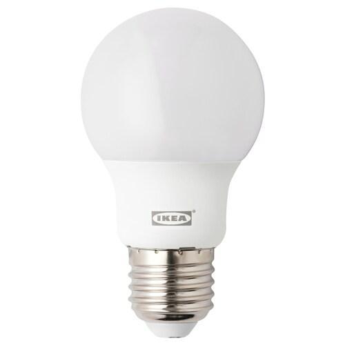 RYET LED bulb E27 400 lumen globe opal white 400 lm 5 W