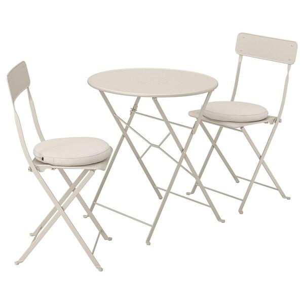 Saltholmen Table 2 Folding Chairs