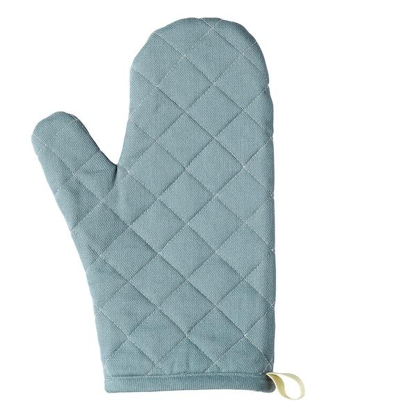 SANDVIVA Oven glove, textile/blue