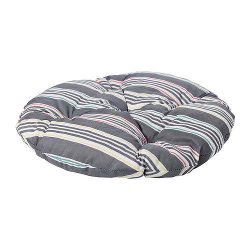 SÄRÖ Cushion   Polyurethane foam filling provides great comfort and durability.  Reversible; two sides to use.
