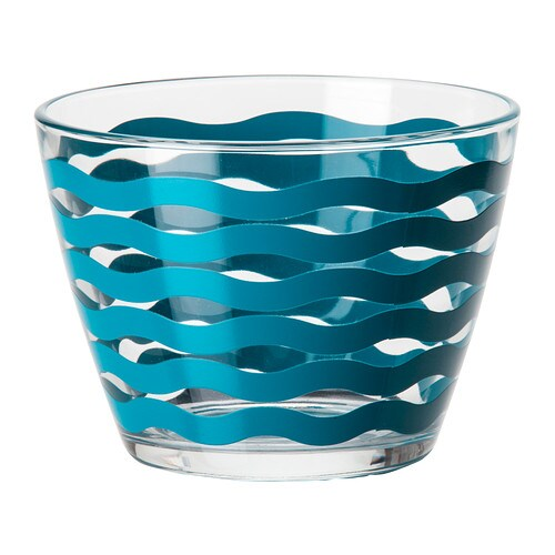 SATSNING Bowl   Made of tempered glass, which makes the bowl durable and extra resistant to impact.