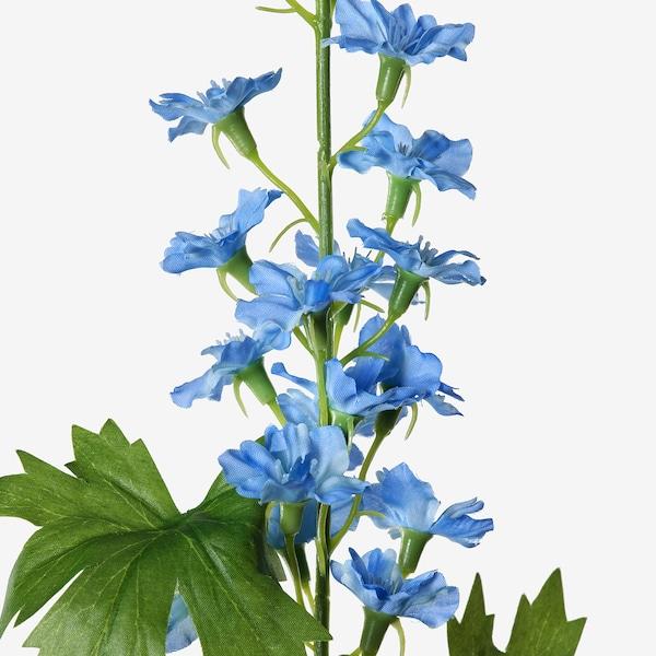 SMYCKA Artificial flower, in/outdoor/Larkspur blue, 60 cm