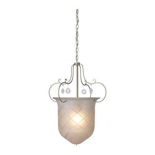 SÖDER Pendant lamp   Gives a soft mood light.