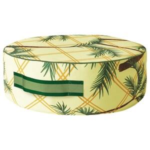 Colour: Palm pattern yellow.