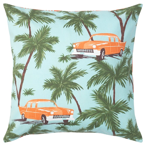 SOMMAR 2020 cushion cover blue/multicolour 50 cm 50 cm