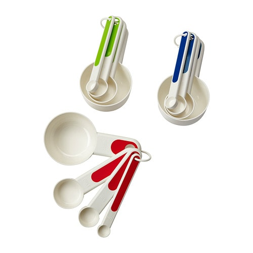 STÄM Set of 4 measuring cups