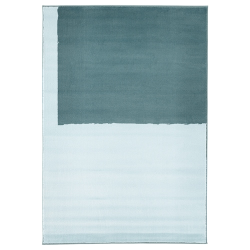 STILLEBÄK rug, low pile blue 195 cm 133 cm 13 mm 2.59 m² 2050 g/m² 700 g/m² 10 mm 10 mm