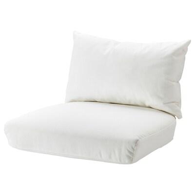 STOCKHOLM 2017 Cushion set armchair, Röstånga white