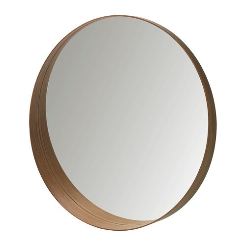 Stockholm Mirror Walnut Veneer Ikea