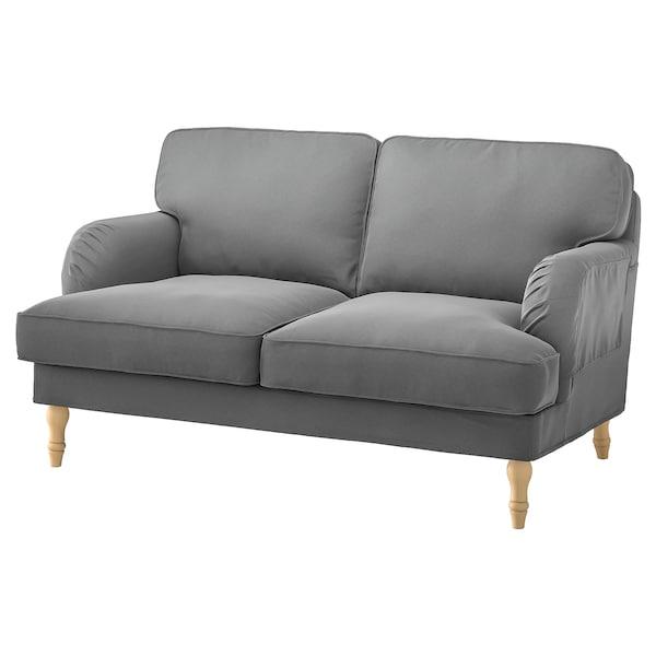 STOCKSUND Cover for 2-seat sofa, Ljungen medium grey