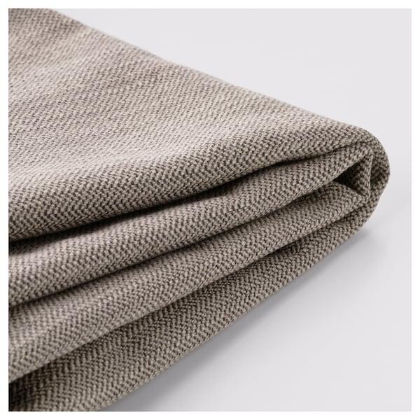 STOCKSUND Cover for 2-seat sofa, Nolhaga grey-beige