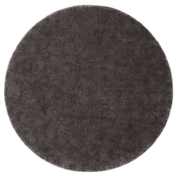 STOENSE rug, low pile dark grey 130 cm 18 mm 1.33 m² 2560 g/m² 1490 g/m² 15 mm