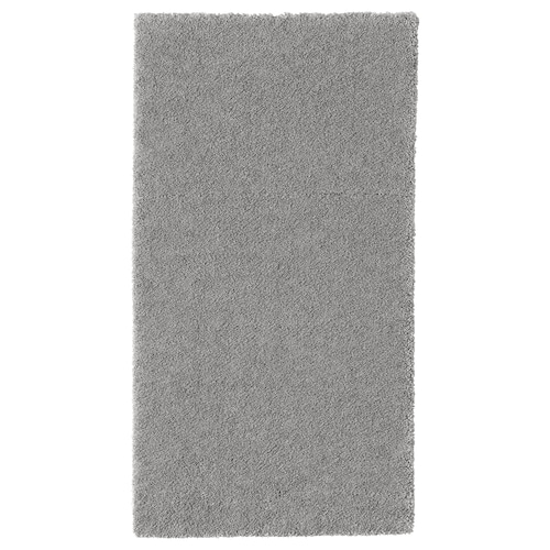 STOENSE rug, low pile medium grey 150 cm 80 cm 18 mm 1.20 m² 2560 g/m² 1490 g/m² 15 mm