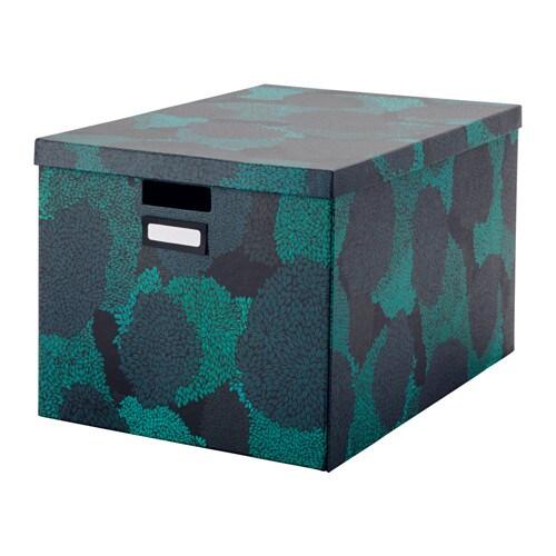 tjena storage box with lid ikea. Black Bedroom Furniture Sets. Home Design Ideas