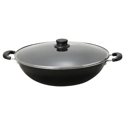 TOLERANT Wok with lid, 40 cm