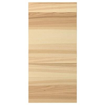 TORHAMN Cover panel, natural ash, 39x80 cm