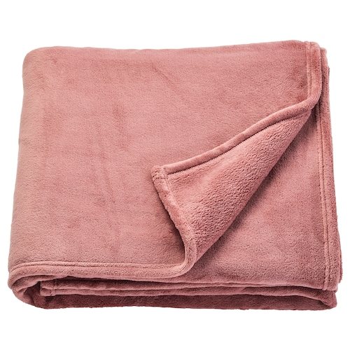 TRATTVIVA bedspread dark pink 250 cm 150 cm