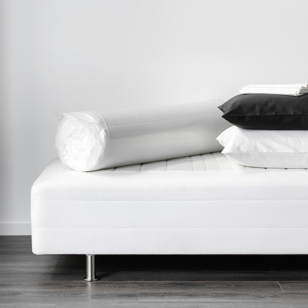 TUDDAL Mattress pad, white, 150x200 cm