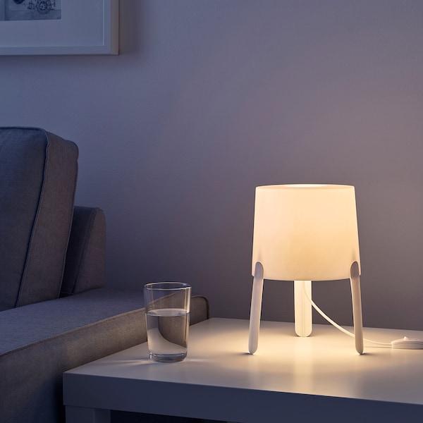 TVÄRS Table lamp, white