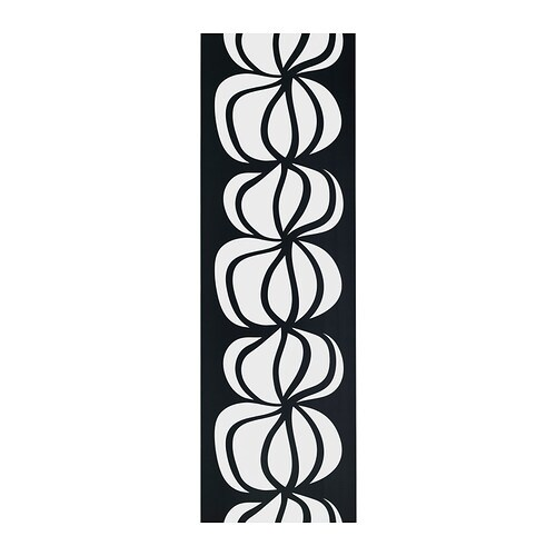 Curtains Ideas black and white panel curtains : ULLASTINA Panel curtain - IKEA