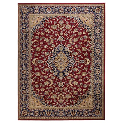 VEDBÄK Rug, low pile, multicolour, 170x230 cm