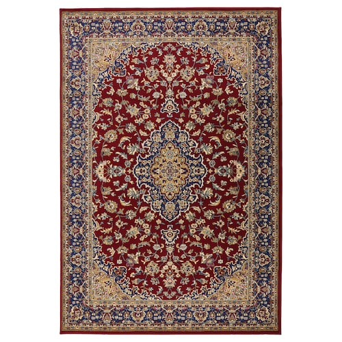 VEDBÄK rug, low pile multicolour 195 cm 133 cm 15 mm 2.59 m² 2300 g/m² 1300 g/m² 11 mm