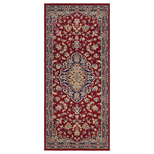 VEDBÄK rug, low pile multicolour 180 cm 80 cm 15 mm 1.44 m² 2300 g/m² 1300 g/m² 11 mm