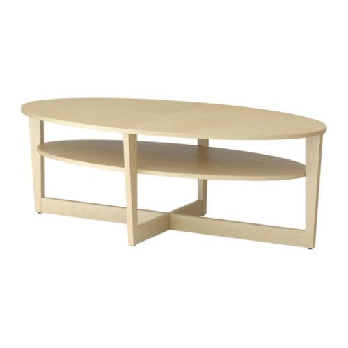 VEJMON Coffee table   Separate shelf for storing magazines, etc.  ; keeps your things organised and the table top clear.