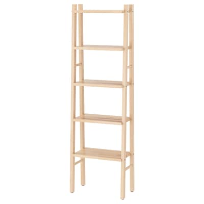 VILTO Shelving unit, birch, 46x150 cm