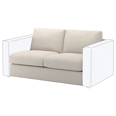 VIMLE 2-seat section, Gunnared beige