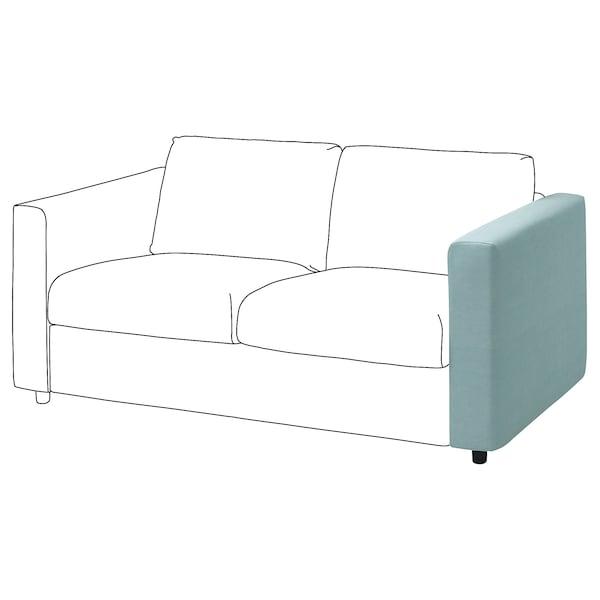 VIMLE Cover for armrest, Saxemara light blue