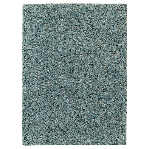 VINDUM rug, high pile blue-green 270 cm 200 cm 5.40 m² 4180 g/m² 2980 g/m² 35 mm