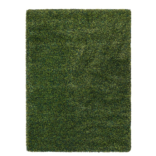 VINDUM rug, high pile green 180 cm 133 cm 30 mm 2.39 m² 4180 g/m² 2400 g/m² 26 mm