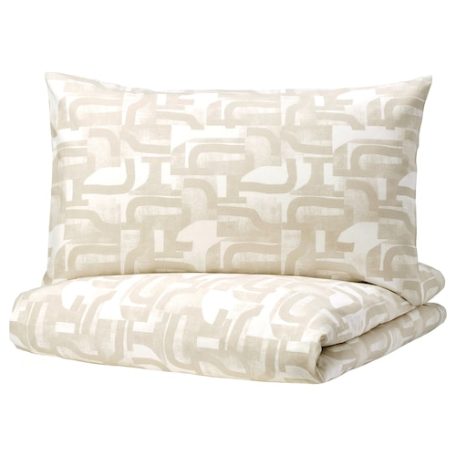 IKEA VINTERJASMIN Quilt cover and 4 pillowcases