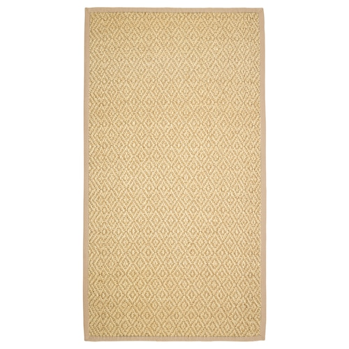 VISTOFT rug, flatwoven natural 150 cm 80 cm 8 mm 1.20 m² 2840 g/m²