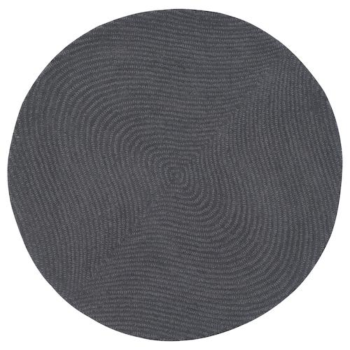 VOSTRUP rug, low pile light grey 90 cm 11 mm 0.63 m² 3000 g/m² 2350 g/m² 6 mm