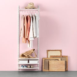 Go To Open Clothes Shoe Storage System