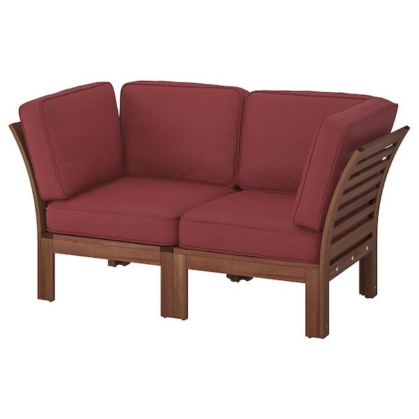 ÄPPLARÖ Sofa modular 2 tempat duduk, luar