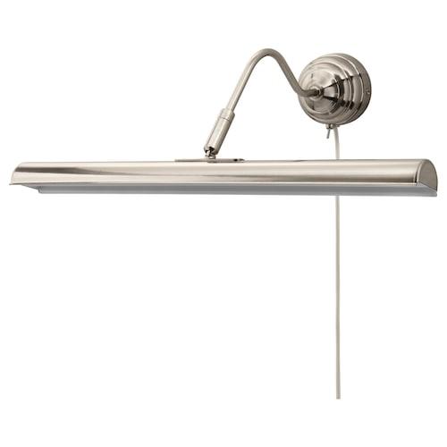ÅRSTID Lampu gambar LED bersadur nikel 200 lm 40 cm 26 cm 3.5 m 3.5 W