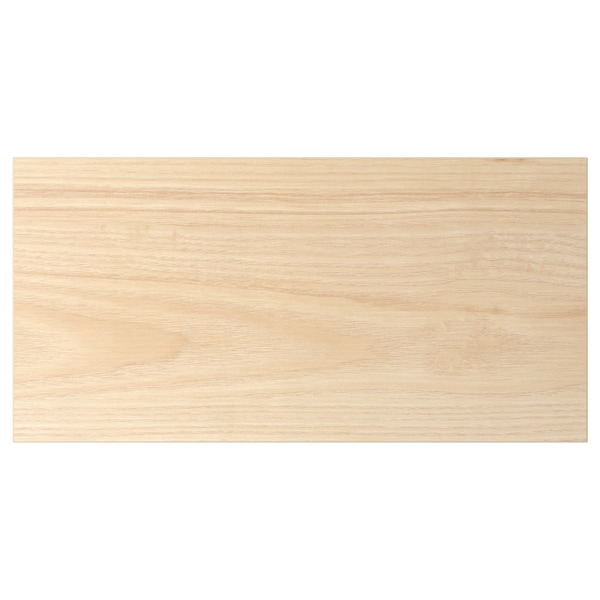 ASKERSUND Bahagian hadapan laci, kesan kayu ash muda, 40x20 cm